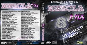 GM74- Mezcla Mix 8 HD - Dj Galamix vs Dj Manu el +