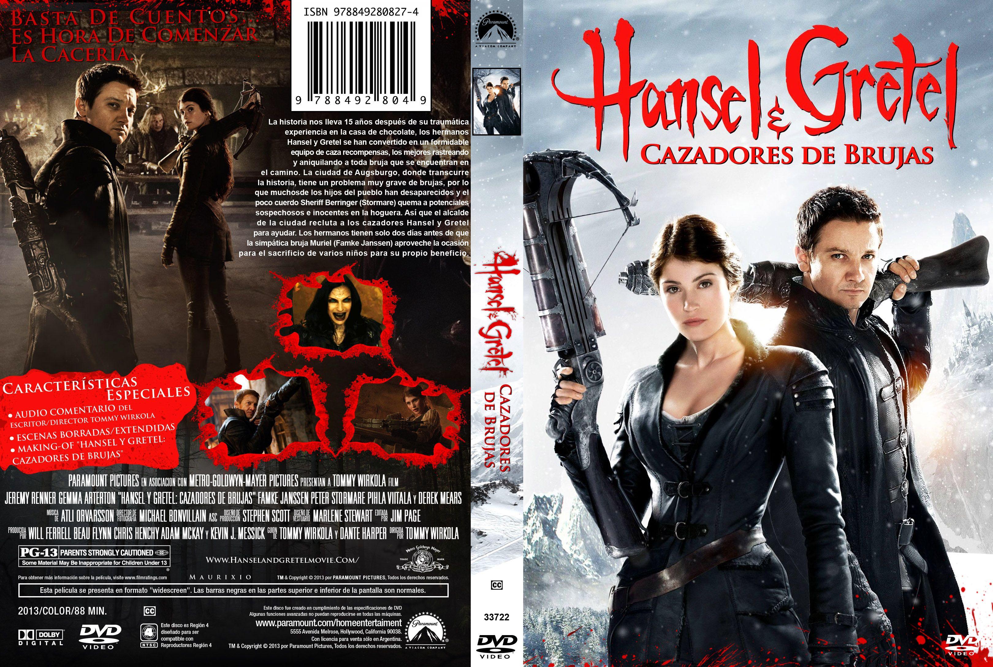 Hansel y Gretel: Cazadores de Brujas (2013) [Dvdrip Latino]