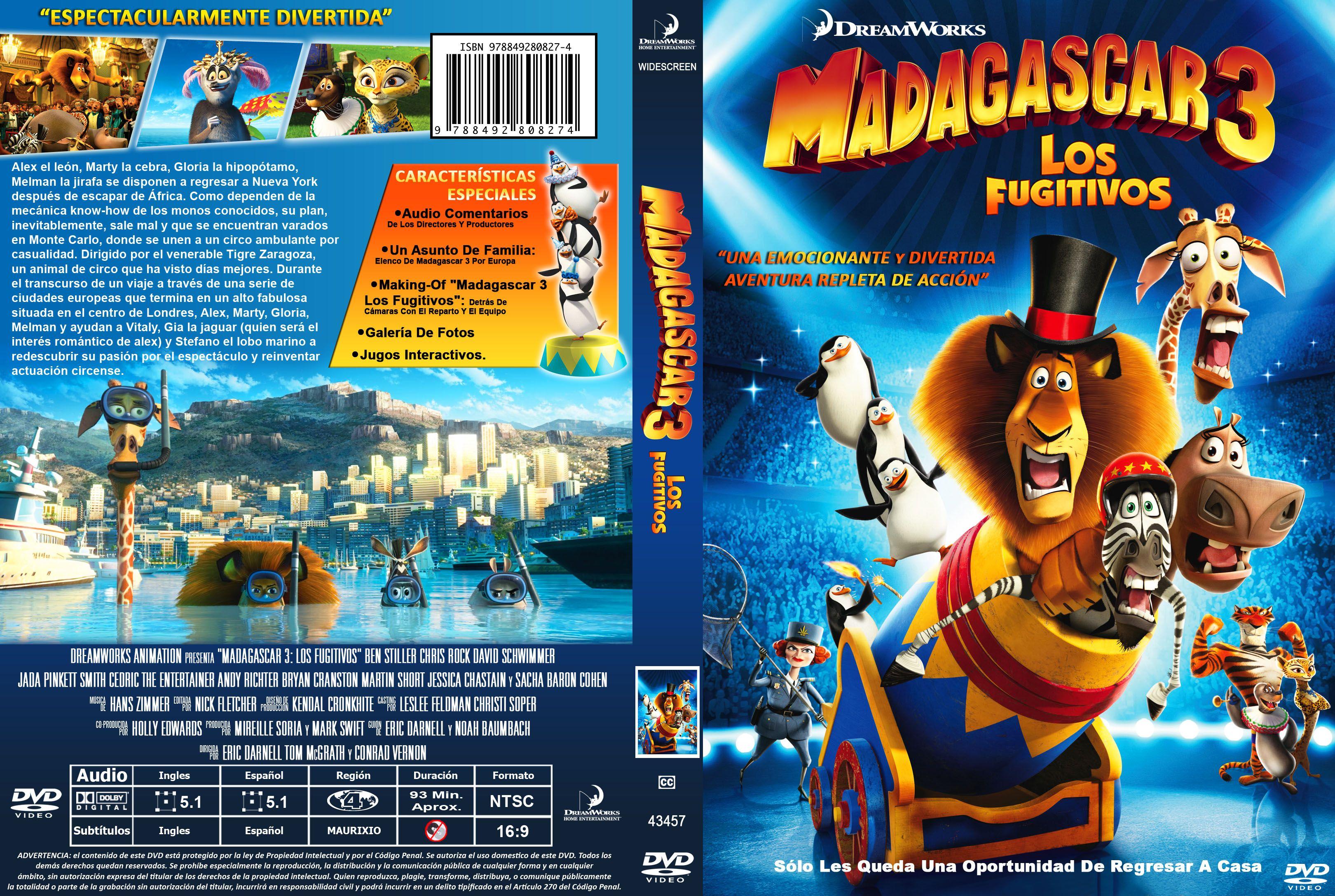 Madagascar Dvd Latino